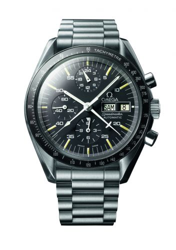 Speedmaster Automatic Stainless Steel / Black / Bracelet