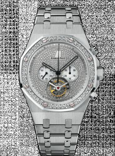 Royal Oak Tourbillon Chronograph White Gold / Diamond