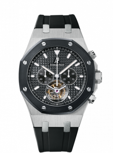 Royal Oak 26377 Tourbillon Chronograph Stainless Steel / Ceramic