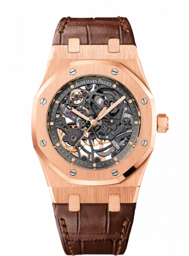 Royal Oak Openworked Selfwinding Pink Gold / Strap