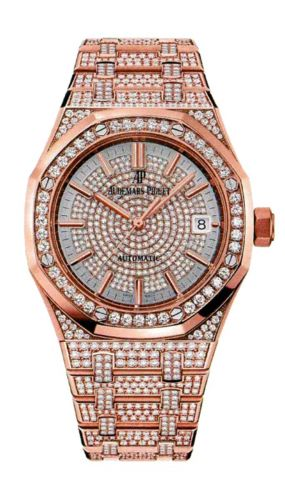 Royal Oak 15452 Selfwinding Pink Gold / Diamond