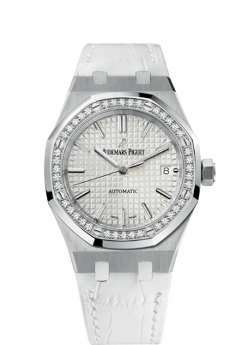 Royal Oak 15451 Selfwinding Stainless Steel / Diamond / Silver / Strap