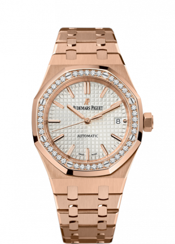 Royal Oak 15451 Selfwinding Pink Gold / Silver
