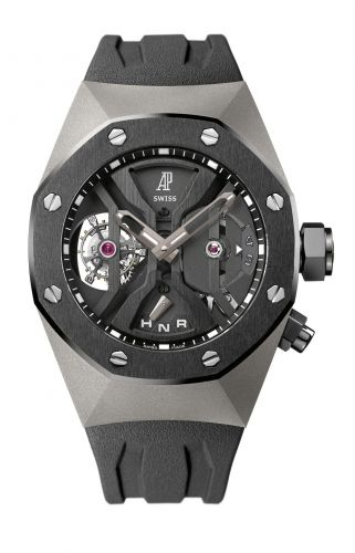 Royal Oak Concept 26560 GMT Tourbillon Titanium / Black Ceramic