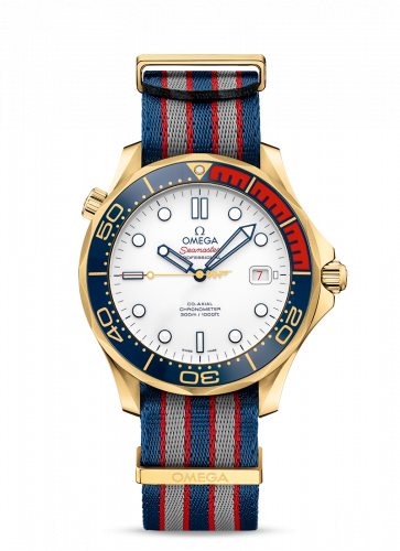 Seamaster Diver 300M Co-Axial 41 Yellow Gold /James Bond Commander's Watch