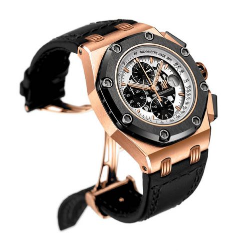 Royal Oak OffShore 26078 Barrichello II Pink Gold