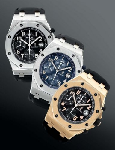 Royal Oak OffShore 26055 Jay-Z 10th Anniversary Stainless Steel