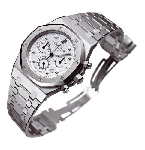 Royal Oak 25960 Chronograph White Gold / Silver