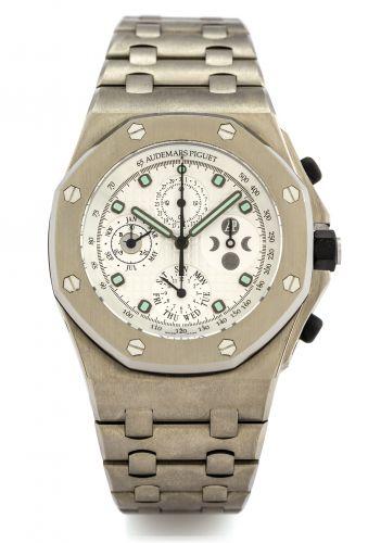 Royal Oak OffShore 25854 Perpetual Calendar Titanium / Silver