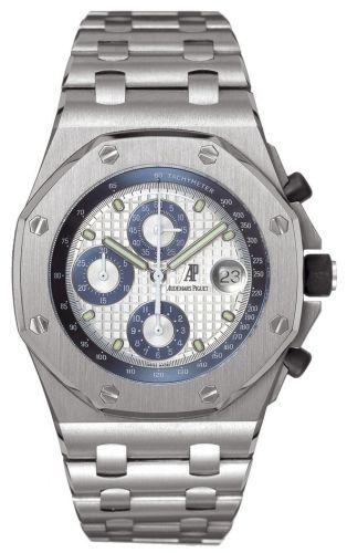 Royal Oak OffShore 25721 Chronograph Titanium / Silver / Blue