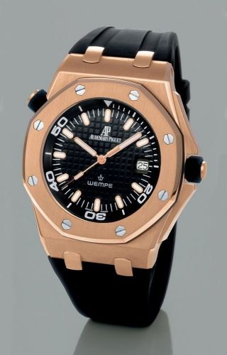 Royal Oak OffShore 15340 Scuba Wempe Pink Gold