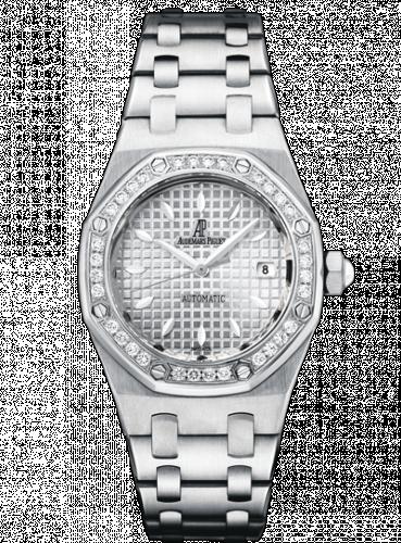 Royal Oak Selfwinding 77321 Stainless Steel / Diamond / Silver / Bracelet