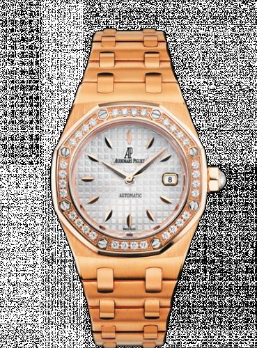 Royal Oak Selfwinding 77321 Pink Gold / Diamond / Silver / Bracelet