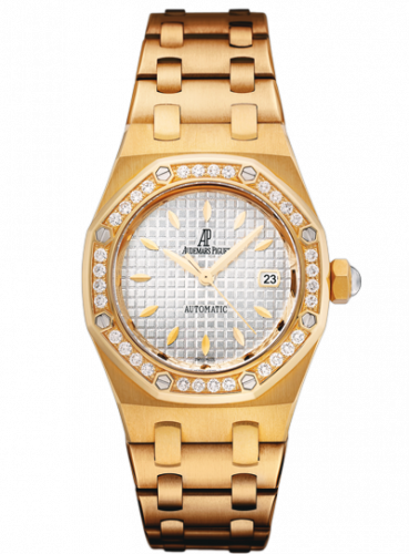 Royal Oak Selfwinding 77321 Yellow Gold / Diamond / Silver / Bracelet