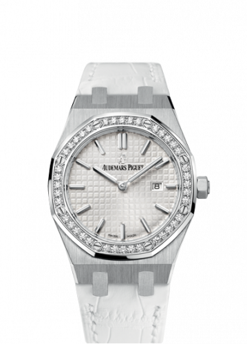 Royal Oak 67651 Quartz Stainless Steel / Silver / Strap