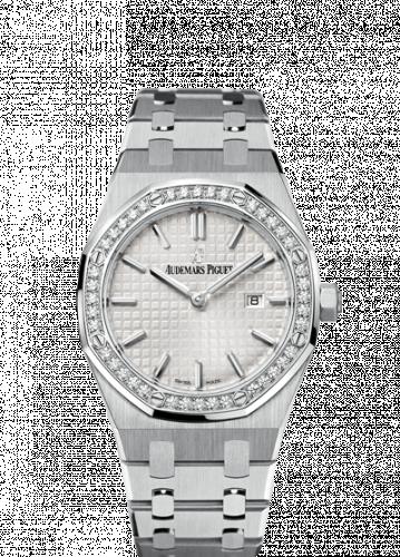 Royal Oak 67651 Quartz Stainless Steel / Silver