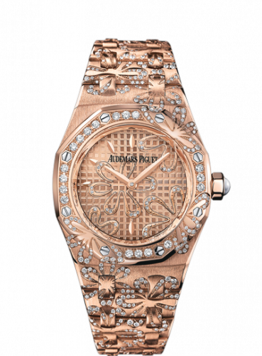 Royal Oak 67617 Pink Gold / Pink / Floral