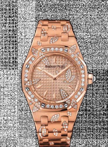 Royal Oak 67616 Pink Gold / Pink / Leaves