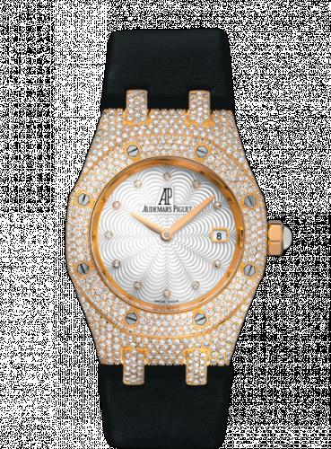 Royal Oak 67605 Pink Gold / Diamond / MOP / Strap