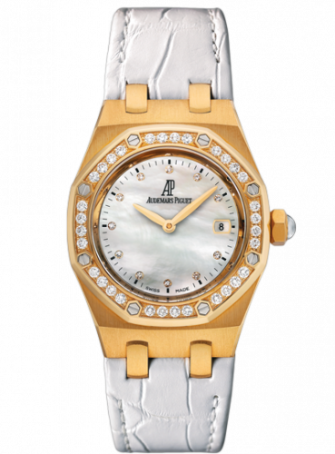 Royal Oak 67601 Quartz Yellow Gold / MOP / Strap