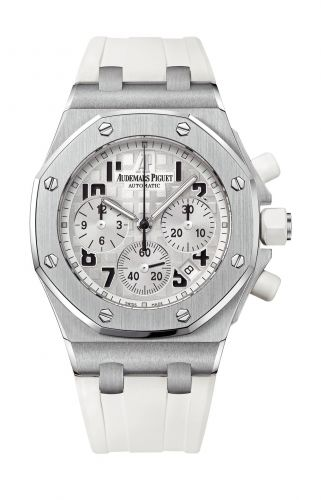 Royal Oak OffShore 26283 Lady Chronograph White