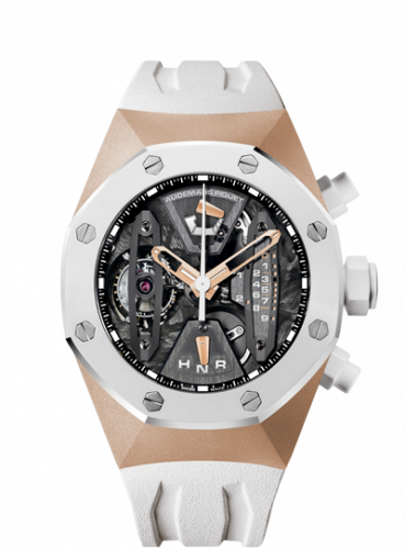 Royal Oak Concept 26223 Tourbillon Chronograph Pink Gold / White Ceramic