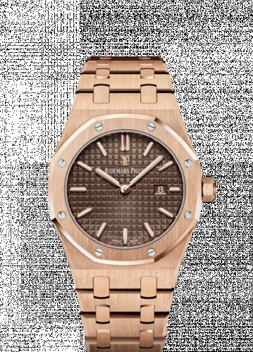 Royal Oak 67650 Quartz Pink Gold