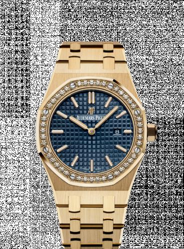 Royal Oak 67651 Quartz Yellow Gold / Blue