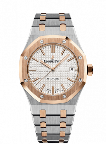 Royal Oak 15450 Selfwinding Stainless Steel / Pink Gold / Silver
