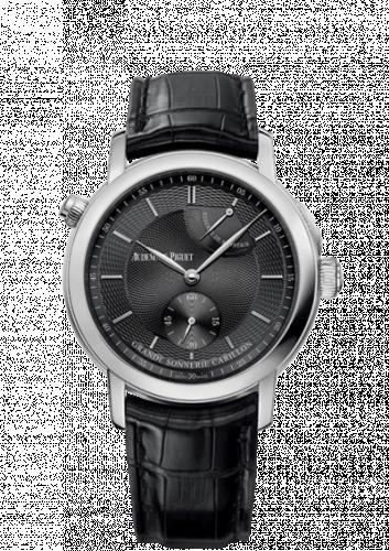 Jules Audemars 26344 Grande Sonnerie Carillon Platinum / The Hour Glass Black