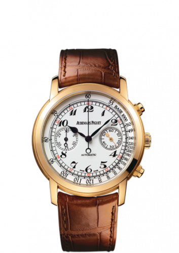 Jules Audemars 26100 Chronograph Pink Gold / White Vintage