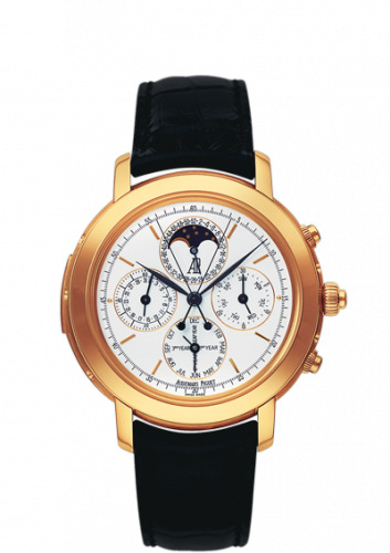 Jules Audemars 25866 Grande Complication Pink Gold / White