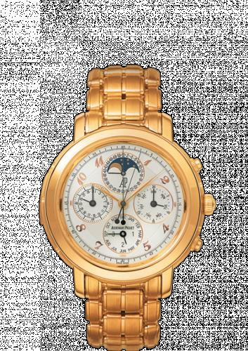 Jules Audemars 25984 Grande Complication Yellow Gold / White Breguet / Bracelet