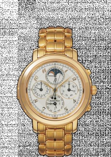 Jules Audemars 25984 Grande Complication Pink Gold / White Breguet / Bracelet