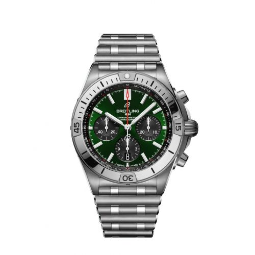 Chronomat B01 42 Stainless Steel / Bentley / Rouleaux