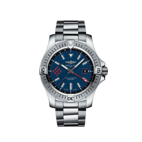Avenger Automatic GMT 45 Stainless Steel / Red Arrows