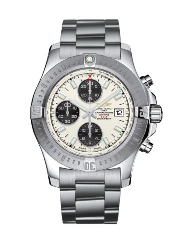 Colt Chronograph Automatic Stainless Steel / Stratus Silver / Bracelet