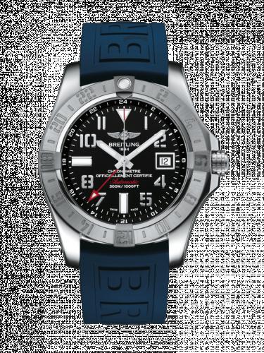 Avenger II GMT Stainless Steel / Volcano Black / Rubber / Folding