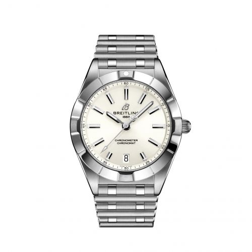 Chronomat 32 Stainless Steel / White / Rouleaux
