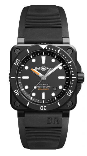BR 03-92 Diver Black Matte