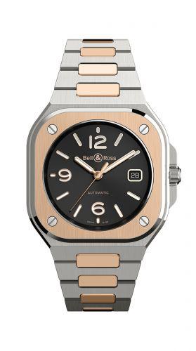 BR 05 Stainless Steel / Rose Gold / Black / Bracelet