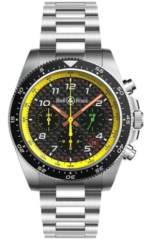 Gents Bell & Ross F1 Racing Strap Watch