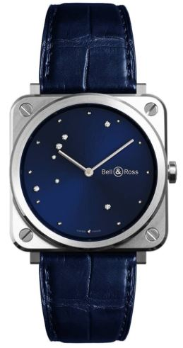 Ladies Bell & Ross Diamond Strap Watch