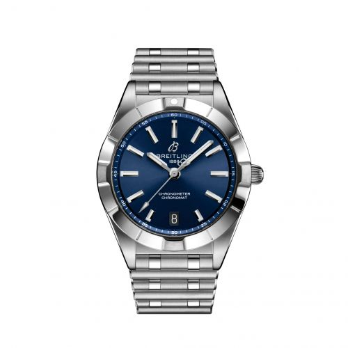 Chronomat 32 Stainless Steel / Blue / Rouleaux