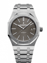 Royal Oak 15400 Stainless Steel / Grey