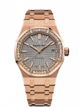 Royal Oak 15451 Selfwinding Pink Gold / Grey