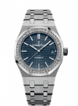 Royal Oak 15451 Selfwinding Stainless Steel / Blue