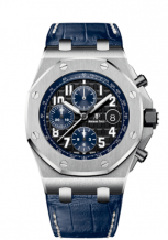 Royal Oak Offshore 26470 Stainless Steel / Black / Alligator