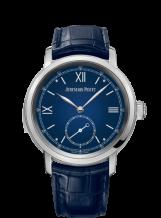 Jules Audemars Minute Repeater Platinum / Blue Enamel
