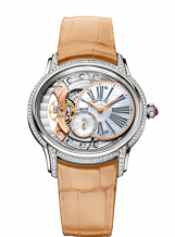 Millenary Hand-wound White Gold / Mother of Pearl